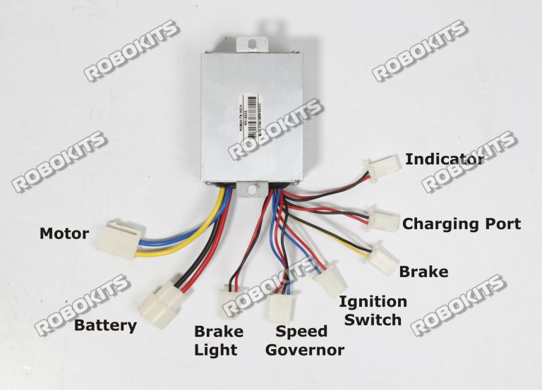 E Bike Motor Electric Speed Controller 24v 350w Rki 9202 1 050