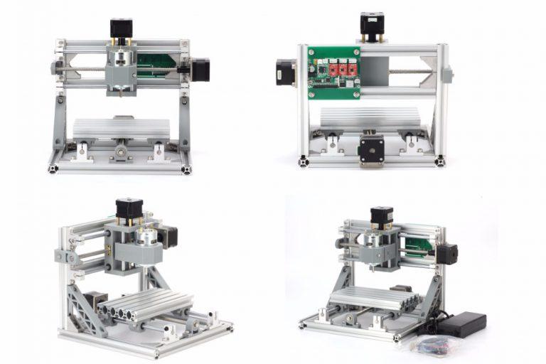 mini metal cnc grbl milling and laser engraving machine diy kit  rki-3802