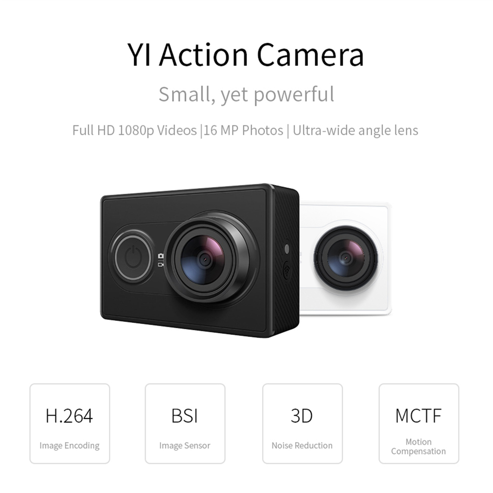 Yi Action Camera Wifi Sports Mini Rki 1926 Rs7399 Cam Sport 1080p H264 Full Hd No Techmoan