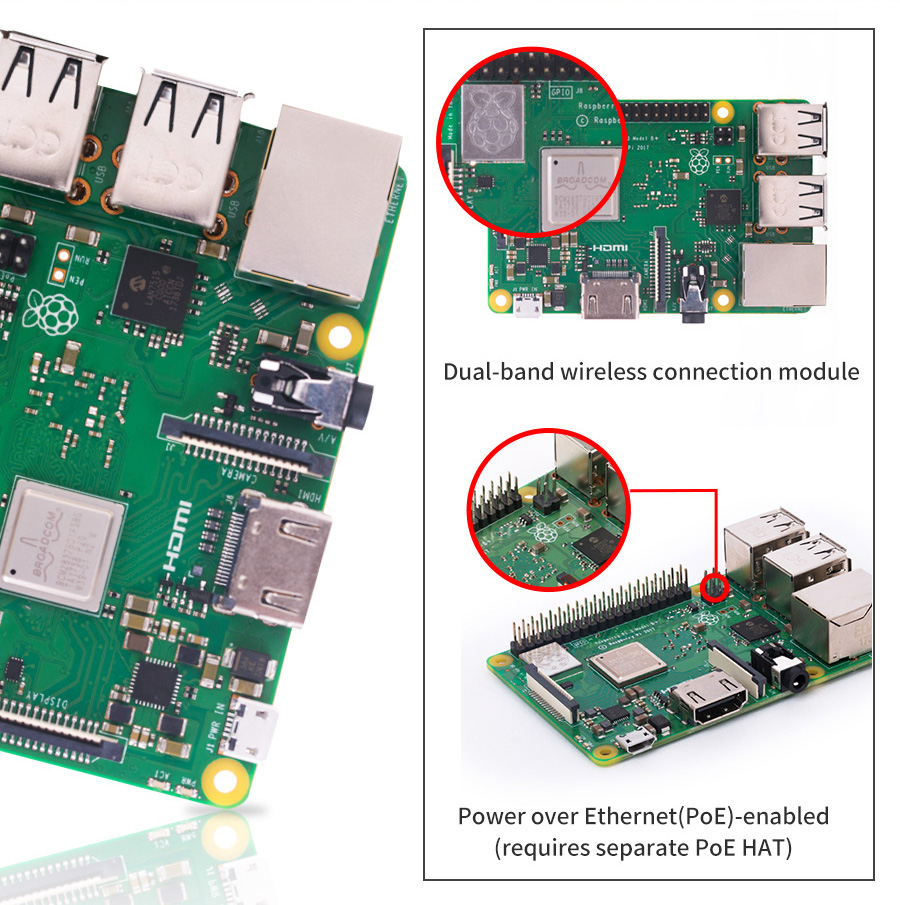 Raspberry Pi 3 B 64bit 5ghz Wi Fi Original Made In Uk Rki 1819 Circuit Breaker Gt Mccb Tgm Electronic Electrical Upgraded Switched Micro Usb Power Source Now Supports Up To 25amps