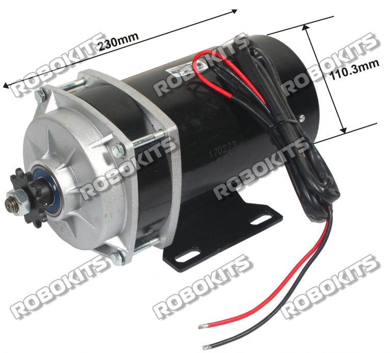 E bike dc geared motor 24v 530rpm 650w rki 9006 rs for How to vary the speed of a dc motor