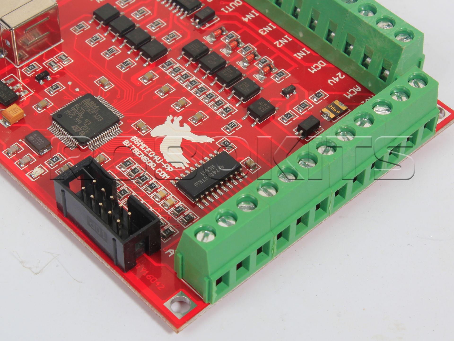 Usb Cnc Controller Mach3 4 Axis 100khz Interface Board Mk1