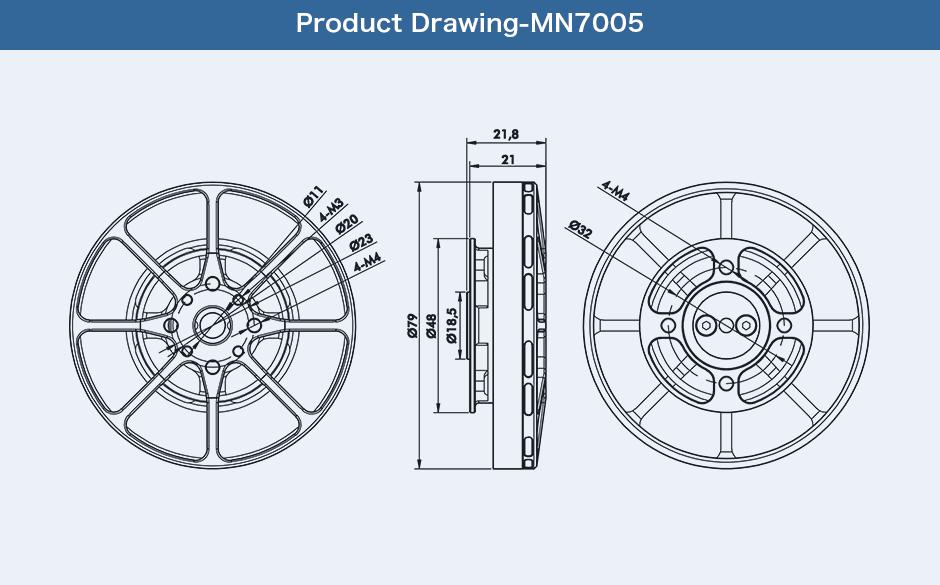T Motor Antigravity MN7005 230KV
