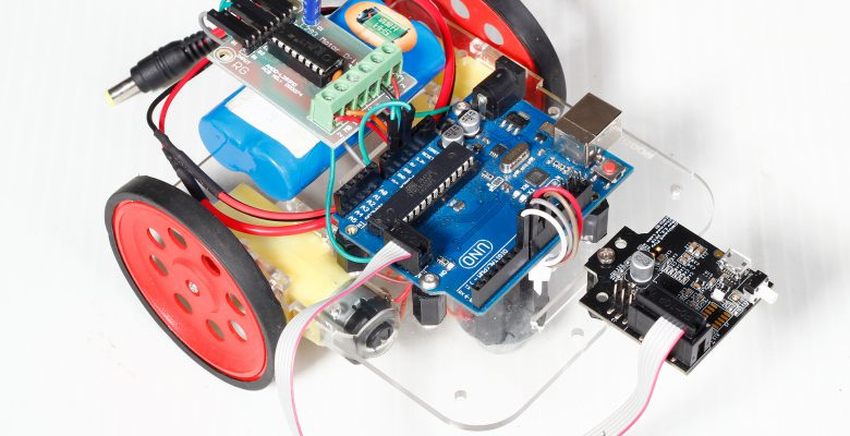 Line Follower Robot using Pixy2 and Arduino - Robokits Resources